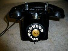 2713 BRB belgisches Bell Wandtelefon v. 1959 Telefon Fernsprecher Metall Bakelit