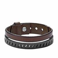Fossil Herren-Armband Vintage Casual Leder JA6927040