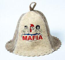 Russian Banya Sauna hat Sheep wool Mafia camorra Gayday film Easter Gift in US