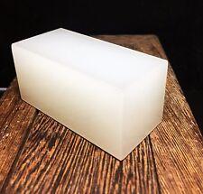 174g As Milk White Jade Rough Cut Cuboid Slabs!! Jade seed Specimen