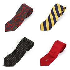 "Polo Ralph Lauren 100% Silk Neckties ""made in Italy"" -- 4 colors --"