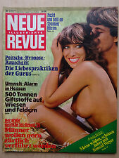 Neue Revue Nr 35/1978, Danyel Gerard, Walter Thiele,Raffaella Carra, FKK Spanien