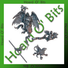 WARHAMMER BIN BITS EMPIRE GENERAL - ANGEL OF DEATH BANNER and GRYPHON