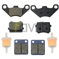 FRONT REAR BRAKE PADS FOR Hammerhead twister 150 GT GTS SS 250 Buggy Go Kart