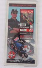 NASCAR Commemorative Ticket Dale Earnhardt Jr. Coca-Cola 500 November 1998