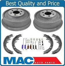 2003-2004 Dodge Dakota Rear Brake Drum Drums & Shoes & Brake Springs 4Pc Kit