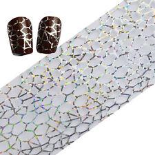 1 Roll Laser Nail Art Foil Holographic Manicure Sticker Irregular Starry Paper