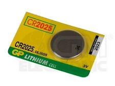 GP CR2025 Lithium Battery: Non Rechargeable Lithium Cell