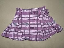 Jupe rayée rose mauve écossaise courte fille 3-4 ans Disney store Marie vintage