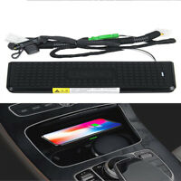 10W Qi Wireless Car Center Console Charger Pad For BMW 320i 330i F30 3 4 Series