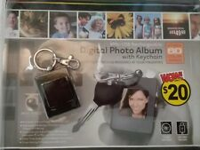 Digital Photo Album Keychain 8MB USB Rechargeable 60 Color Images LCD USB Cord