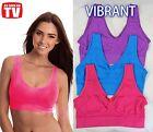 3 Set Seamless Bra S M L XL XXL XXXL ahh so comfy aah Vibrant Color