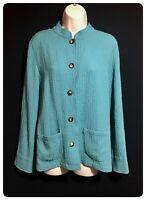 ORVIS Women's UK 10 Jacket Shirt Bohemian Button Up Top Autumn Boho Chic