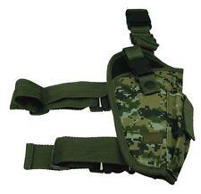 Woodland Digital Tactical Right Elite Leg Gun Holster BB Airsoft Pistol 204WR