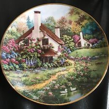 Franklin Mint Plate - A Cozy Glen