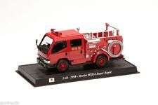 Camion sapeurs pompiers Diecast MORITA SUPER RAPID 1:40 Delprado CBO013