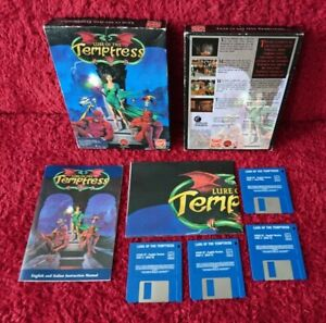 Lure Of The Temptress Atari ST Big Box Game Complete With Poster