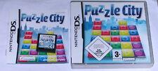 Gioco: Puzzle City per il Nintendo DS Lite + + + DSi XL + 3ds 2ds