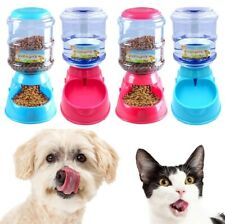 Automatic Pet Food Water Dispenser Dog/Cat Feeder Dish Bowl 3.5L Water Fountain