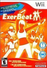 NEU! exerbeat (Nintendo Wii, 2011) Training Spiel brand new & factory sealed!
