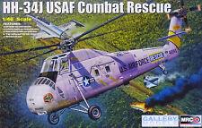 MRC Gallery Models HH-34J USAF Lutte contre la Sauvetage hélicoptère 1:48