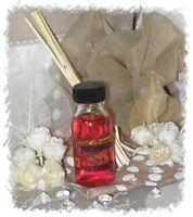 Diffuseur de Parfum Français 60ml 5 Batons Ambiance FRUITS ROUGES neuf