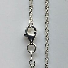 """Prince of Wales Sterling Silver Chain 18""""/46"""" Length"""
