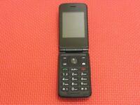 Kazuna eTalk KAZ-F119 Verizon Wireless Large-Button 4GB Gray Flip Cell Phone
