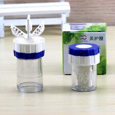 Manuell Kontaktlinsen  Reiniger Waschmaschine 4.7*3.2cm Reinigung Linse.Kasten.*