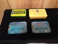Lot of 4 vintage tobacco tins Dill's Best, Lane's Eringold, 2 Edgeworth Pipe