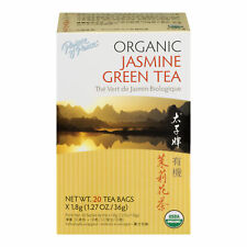Prince of Peace 100% Organic Jasmine Green Tea - 20 Bags
