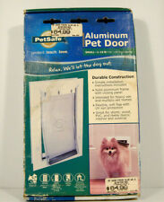 PetSafe SMALL Freedom Aluminum Pet Dog Door-Dogs to 1-15 lbs PPA00-10859