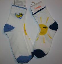 New Gymboree Sunshine & Chick Socks Large NWT Pocketful of Sunshine 2 Pairs Sock