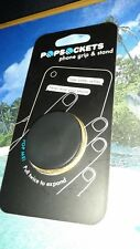PopSocket Authentic Phone Stand. Matte black.