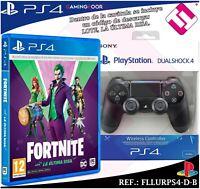 LOTE MANDO PS4 DUALSHOCK ORIGINAL PLAYSTATION 4 + CODIGO FORNITE LA ULTIMA RISA