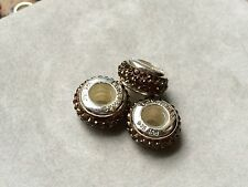 NOW 70% OFF Lovelinks Bead Sterling Silver, Smoky Quartz Crystal