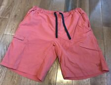 8e69ed8948 Mens REI Swim Trunks Board Shorts Burnt Orange Red 100% Nylon XL
