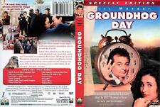 GROUNDHOG DAY with Bill Murray Spec Edit  NEW DVD FREE POST mmoetwil@hotmail.com