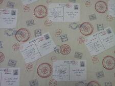 Fryetts viaggio patrimonio CARTOLINE STAMPS Viaggi Tenda Tappezzeria Craft tessuto