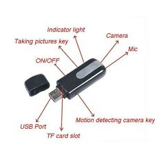 HD USB Disk DVR DV Spy recorder 4pin Spy Motion Detection Camera 1280 * 1024
