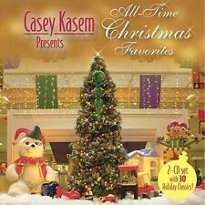 Casey Kasem Presents All Time Christmas Favorites 2CDs 2004 FAST USA SHIPPING