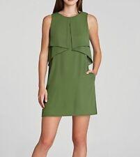 New Bcbg Max Azria Amelie Sleeveless Draped Wqr6X981/M208 Dress Size M