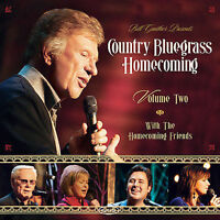 COUNTRY BLUEGRASS HOMECOMING, VOL. 2 CD BILL & GLORIA GAITHER NEW SEALED