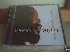 BARRY WHITE CD UNDER THE INFLUENCE OF LOVE SIGILLATO