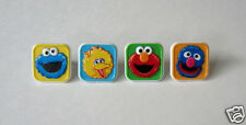 12 Sesame Street Elmo Cup Cake Ring Topper Kid Party Goody Loot Bag Favor S