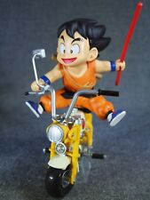 "DRAGON BALL Figure & Bike "" Son Gokou "" BANPRESTO 2015 RARE Anime Manga JAPAN"
