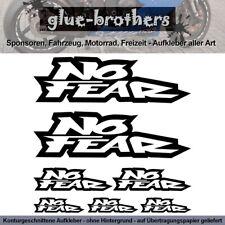 No Fear Aufkleber Farbauswahl Sponsor Decal Vinyl Lifestyle 2