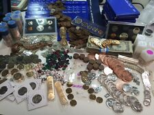 LOT(25 items) BULLION GOLD SILVER RUBY EMERALD SAPPHIRE COIN NUGGET GEMSTONE#%50