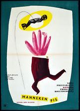 MANNEKEN PIS CASE 1960 Bert Haanstra ERYK LIPINSKI POLISH POSTER