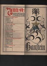 MÜNCHEN, Kalender 1923, Münchener Kalender Verlagsanstalt vorm. G. J. Manz